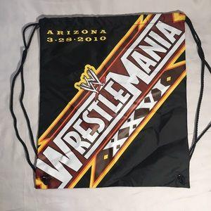 Wrestlemania XXVI 2010 drawstring backpack